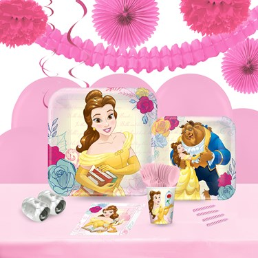 Disney Beauty and the Beast 16 Guest Tableware & Deco Kit