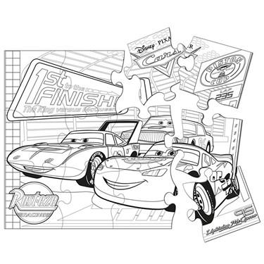 Disney Cars 2 Jumbo Puzzle