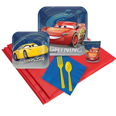 Disney Cars 3 24 Guest Party Pack