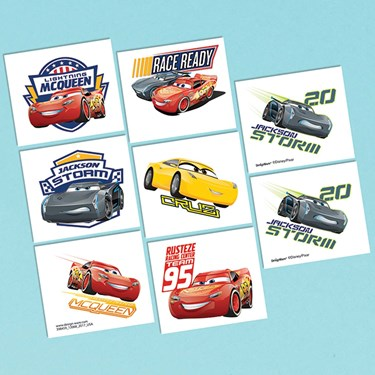 Disney Cars 3 Tattoo Sheet (1)
