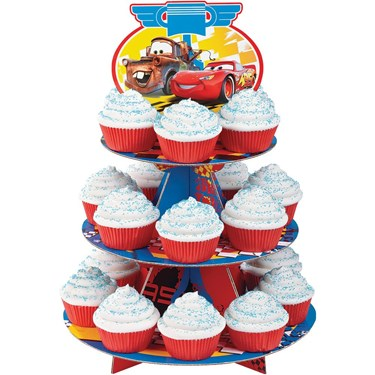 Disney Cars Cupcake And Treat Stand (1)