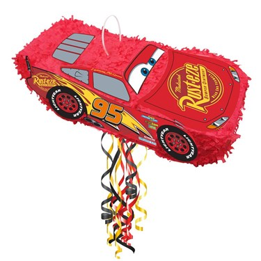 Disney Cars Lightning McQueen 3D Pinata (1)
