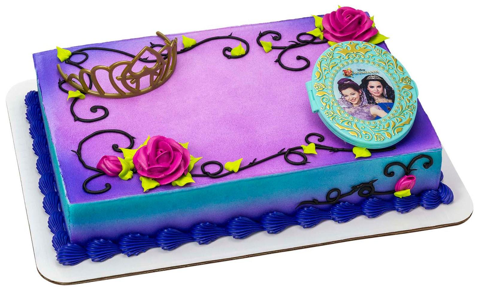 Disney Descendants Cake Topper 2 Pieces