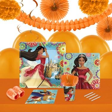 Disney Elena 16 Guest Tableware & Deco Kit