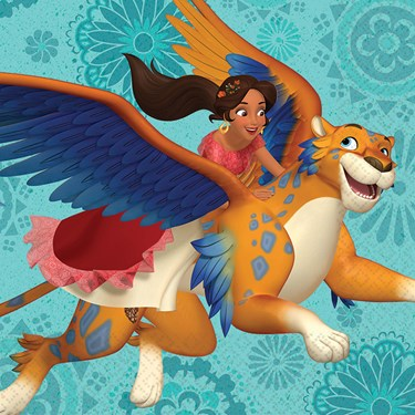 Disney Elena Lunch Napkins (16)
