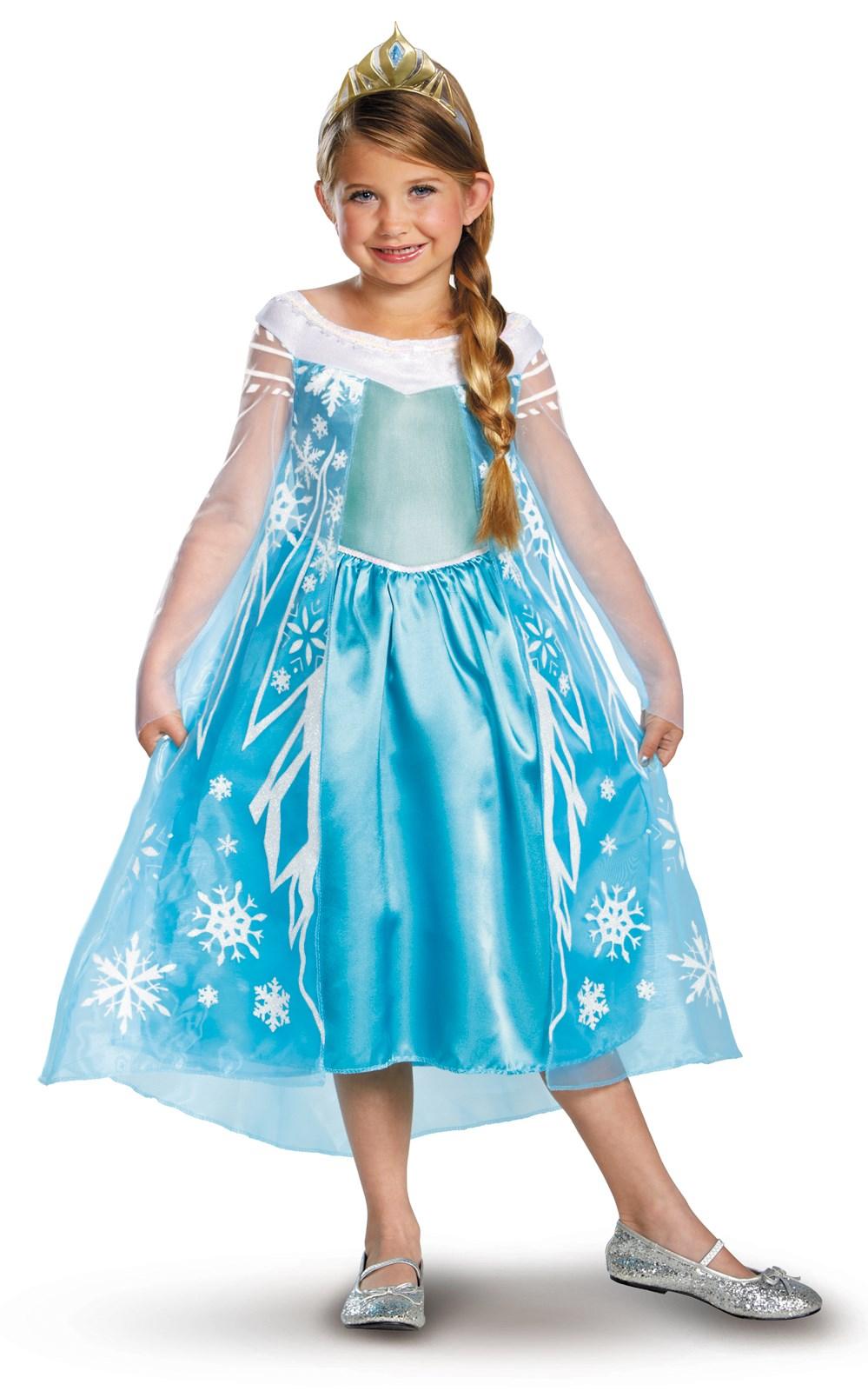 Disney Frozen Deluxe Elsa Toddler / Child Costume | BirthdayExpress.com