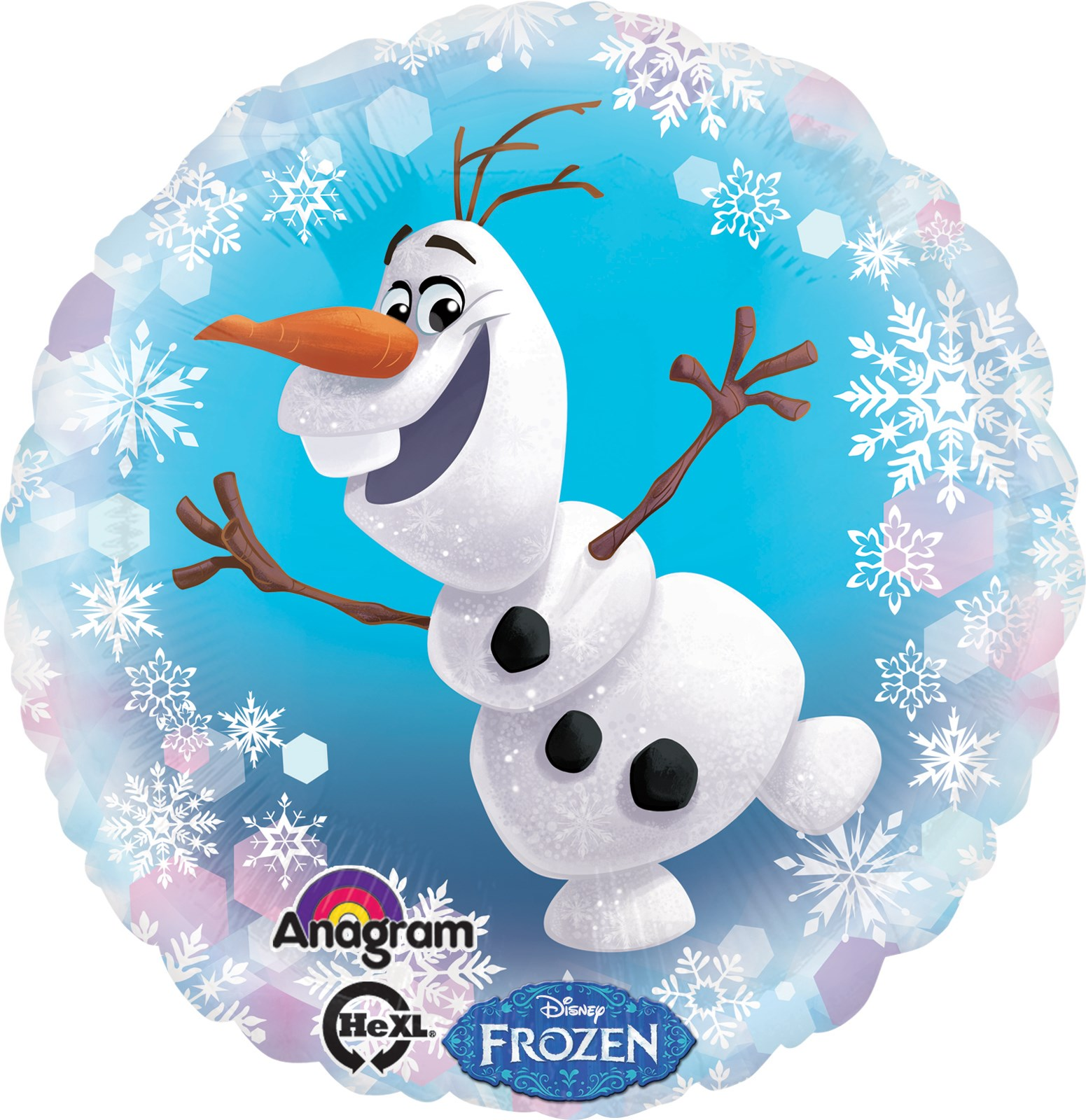 Disney frozen olaf foil balloon birthdayexpress