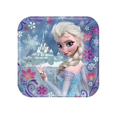 Disney Frozen - Square Dessert Plates Asst.