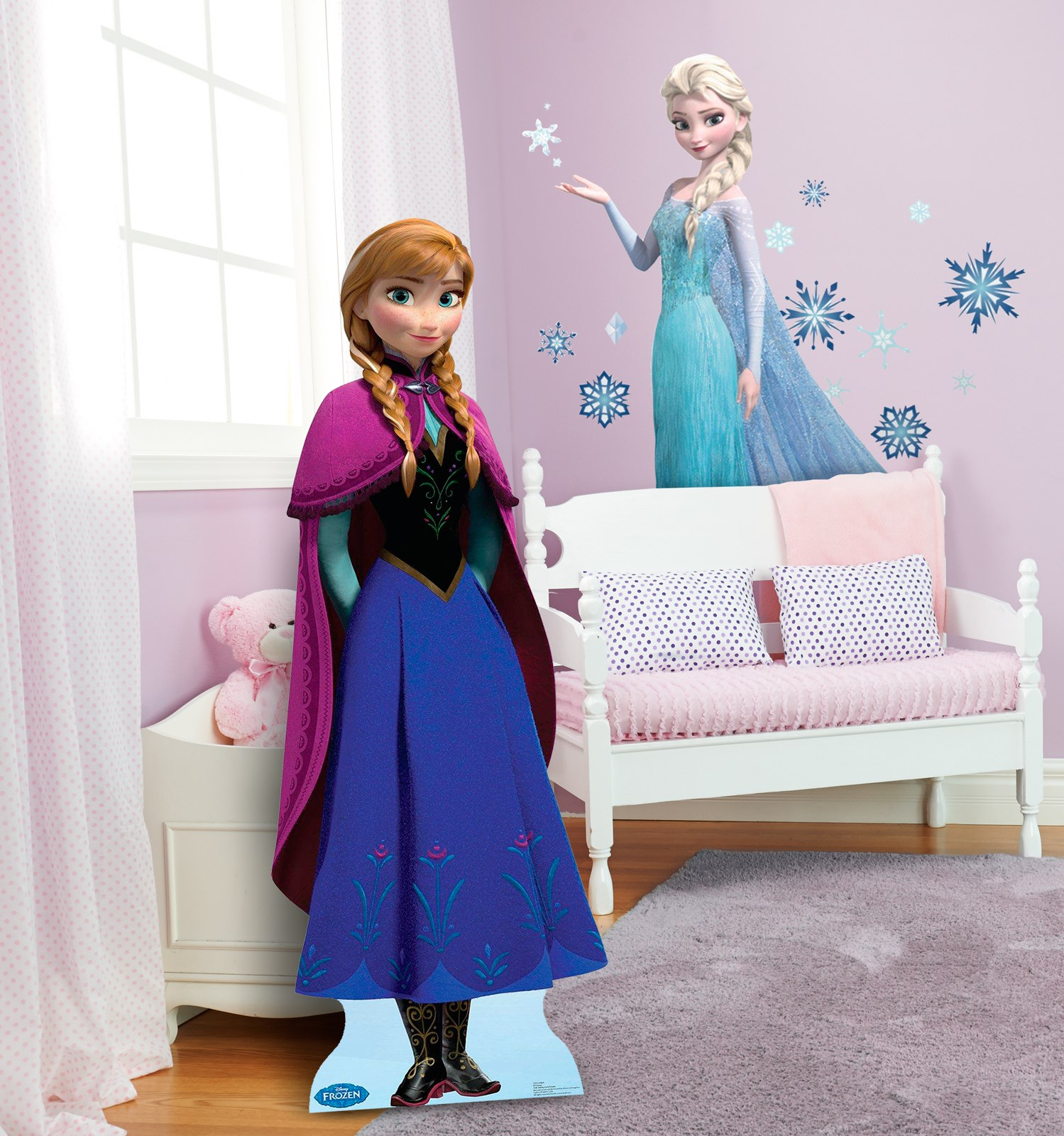 Frozen Wall Decor Kit : Disney frozen wall decals and standup kit