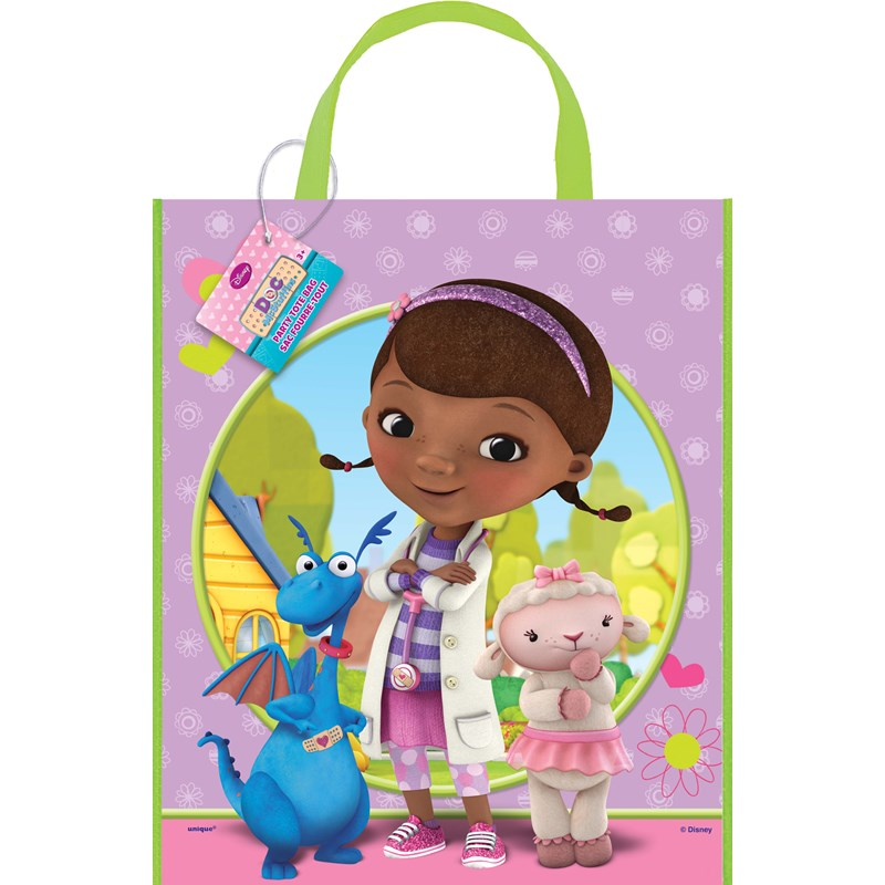 doc mcstuffins tote bag large image - Doc Mcstuffins Halloween Bag