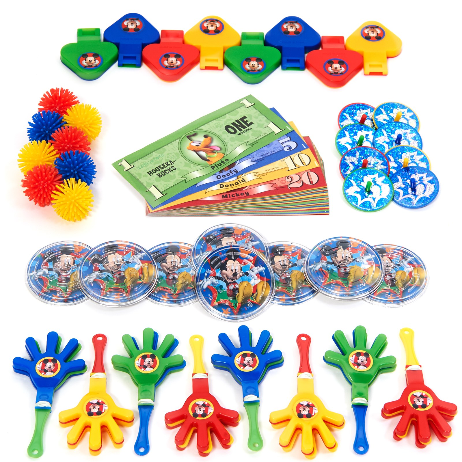 mickey mouse birthday party supplies birthdayexpress com disney mickey fun and friends party favor value pack