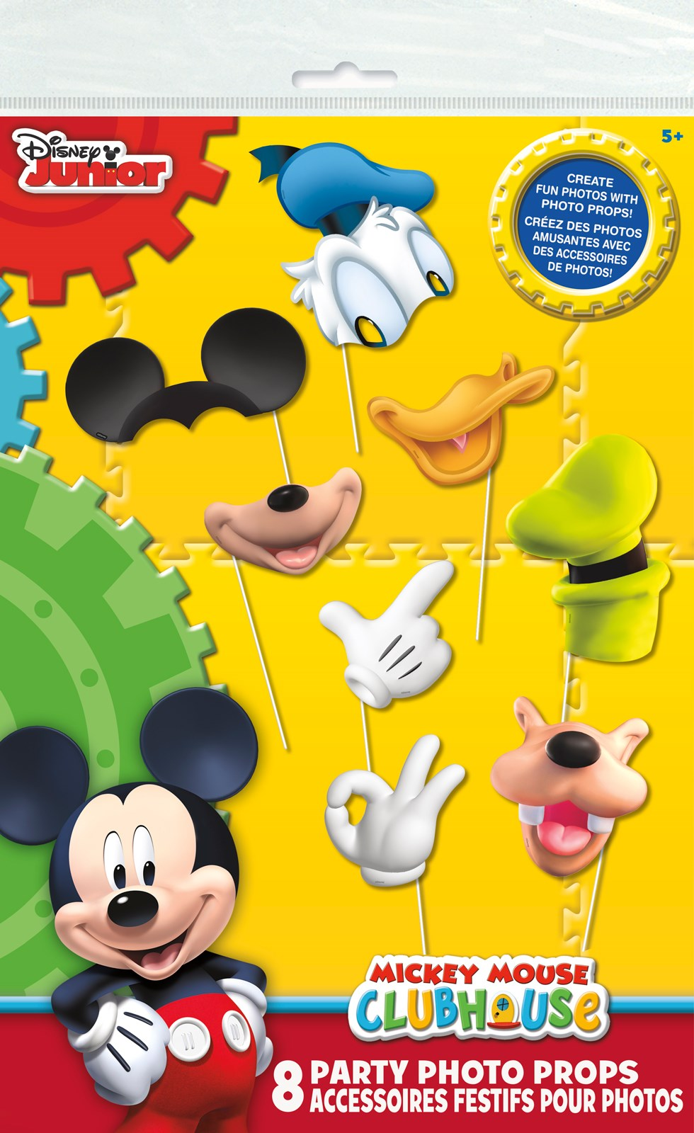 Disney Mickey Mouse Photo Props | BirthdayExpress.com