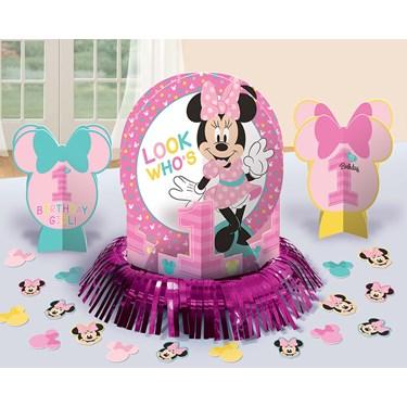 Disney Minnie Mouse 1st Birthday Decorating Kit