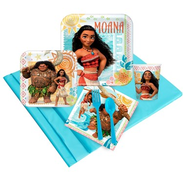 Disney Moana 16 Guest Party Pack