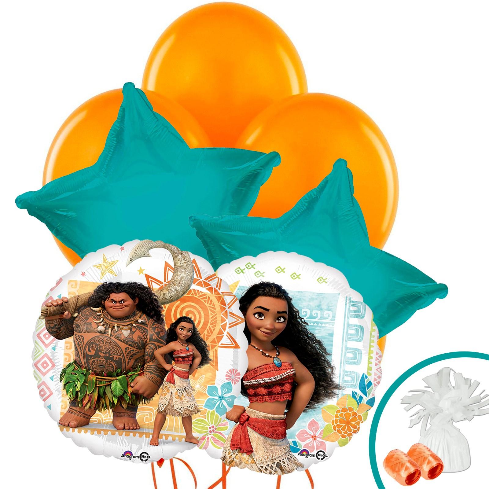 Disney Moana Balloon Bouquet | BirthdayExpress.com