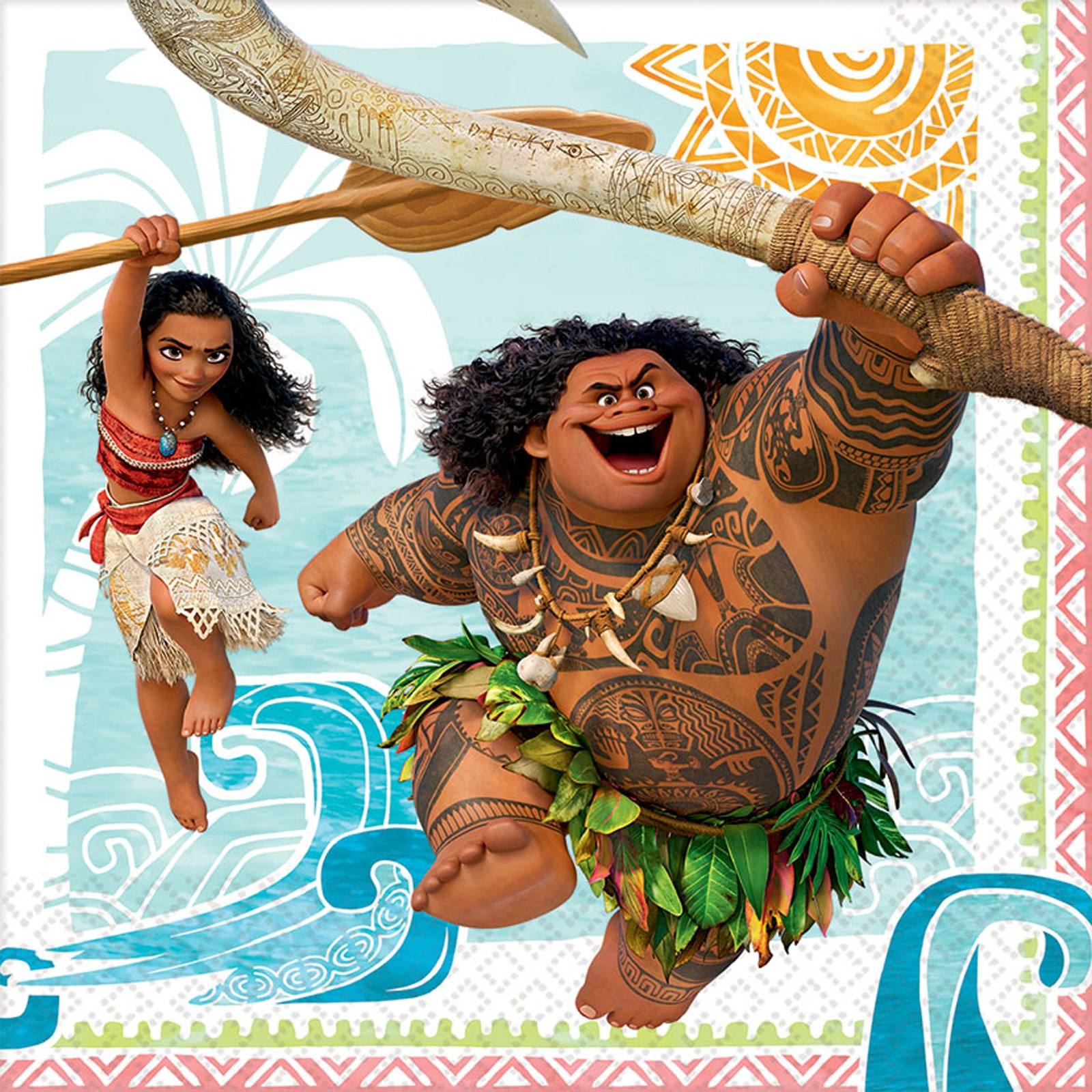Disney Moana Lunch Napkin Birthdayexpress Com