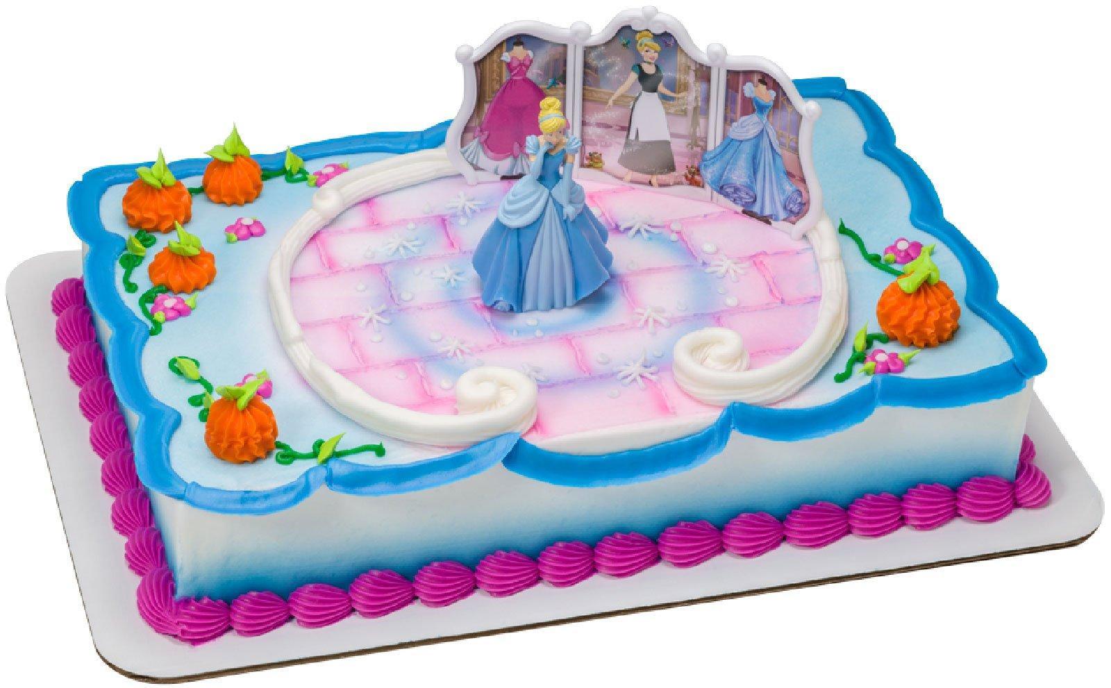 Disney Princess Cinderella Cake Topper 2 Pieces