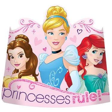 Disney Princess Dream Big Paper Tiaras(8)