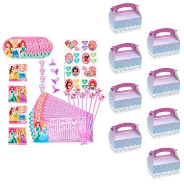 Disney Princess Filled Favor Box Kit  (For 8 Guests)