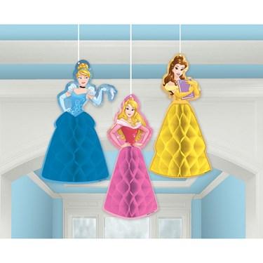 Disney Princess Honeycomb Decorations (3)