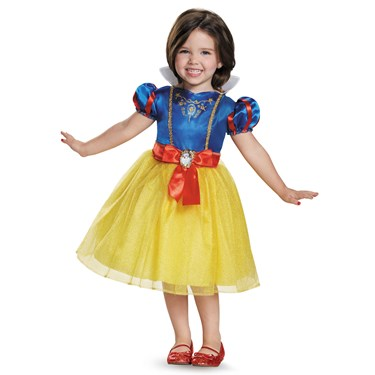 Disney Princess Snow White Classic Costume For Toddler Girls