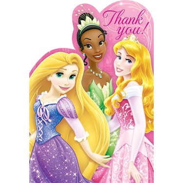 Disney Princess Thank-You Notes (8)