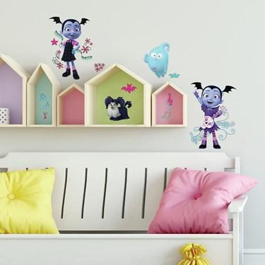 Disney Vampirina Spooktacular Peel and Stick Wall Decals