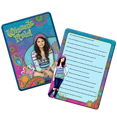 Disney Wizards of Waverly Place Trivia Game