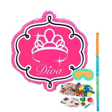 Diva Zebra Pinata Kit