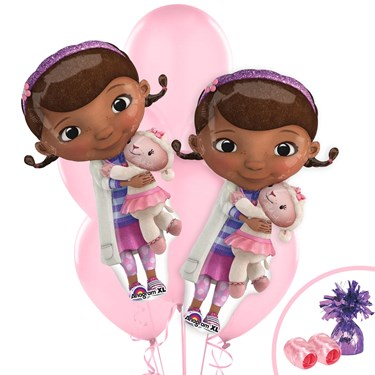 Doc McStuffins Jumbo Balloon Bouquet Kit