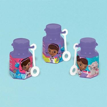Doc Mcstuffins Mini Bubbles .6oz (12)