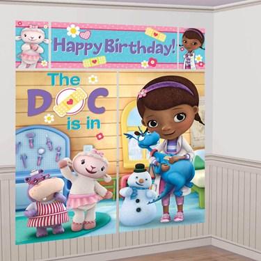 Doc Mcstuffins Wall Decorating Kit (1)