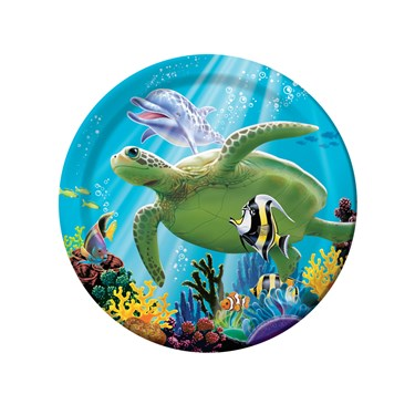 Dolphin Party Dessert Plates (8)