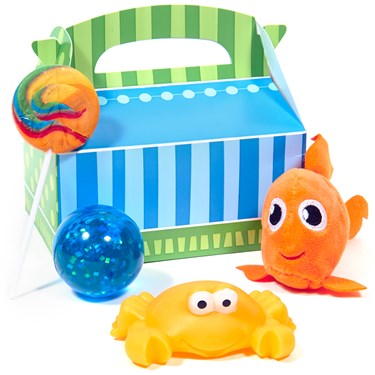 Dolphin Party Filled Favor Box (4)