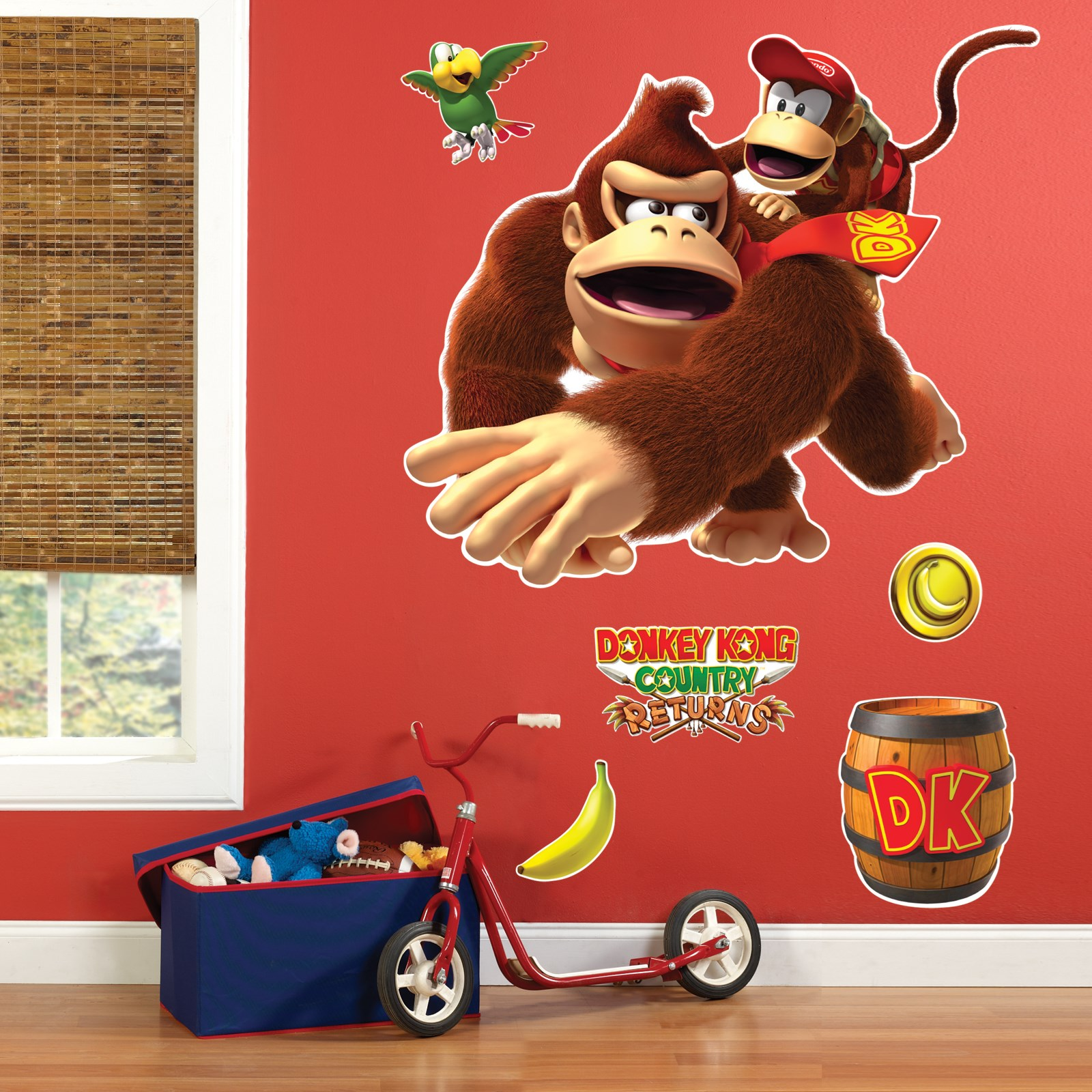 Donkey Kong Giant Wall Decals