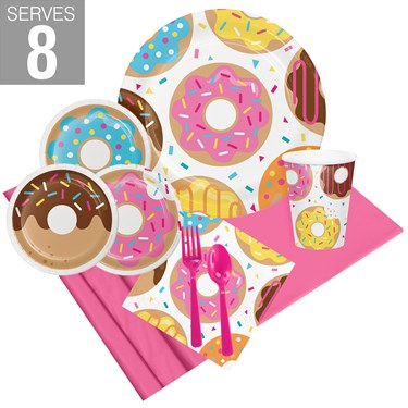 Donut Time Party Pack For 8