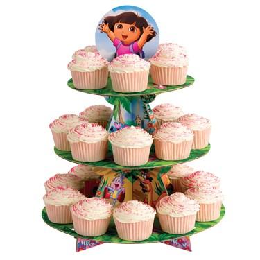 Dora the Explorer Cupcake Stand
