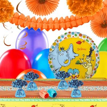 Dr Seuss 1st Birthday Deco Kit