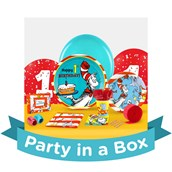 Dr. Seuss 1st Birthday Party in a Box For 8
