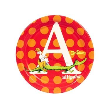 Dr. Seuss ABC - Dessert Plates