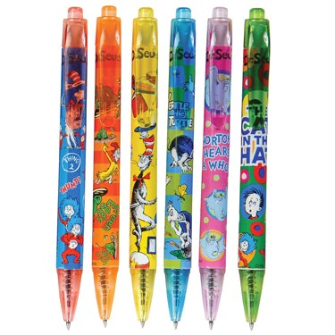 Dr. Seuss Ball Point Pen Asst.(12)