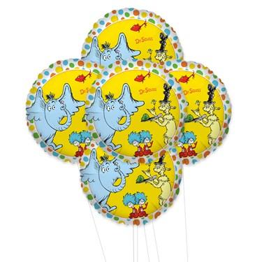 Dr. Seuss Favorites 5pc Foil Balloon Kit