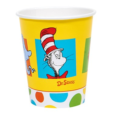 Dr. Seuss Favorites 9oz. Paper Cups (8)