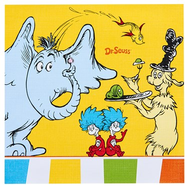 Dr. Seuss Favorites Lunch Napkins (20)