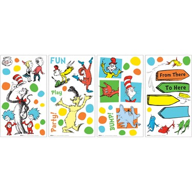 Dr. Seuss Favorites Small Wall Decals
