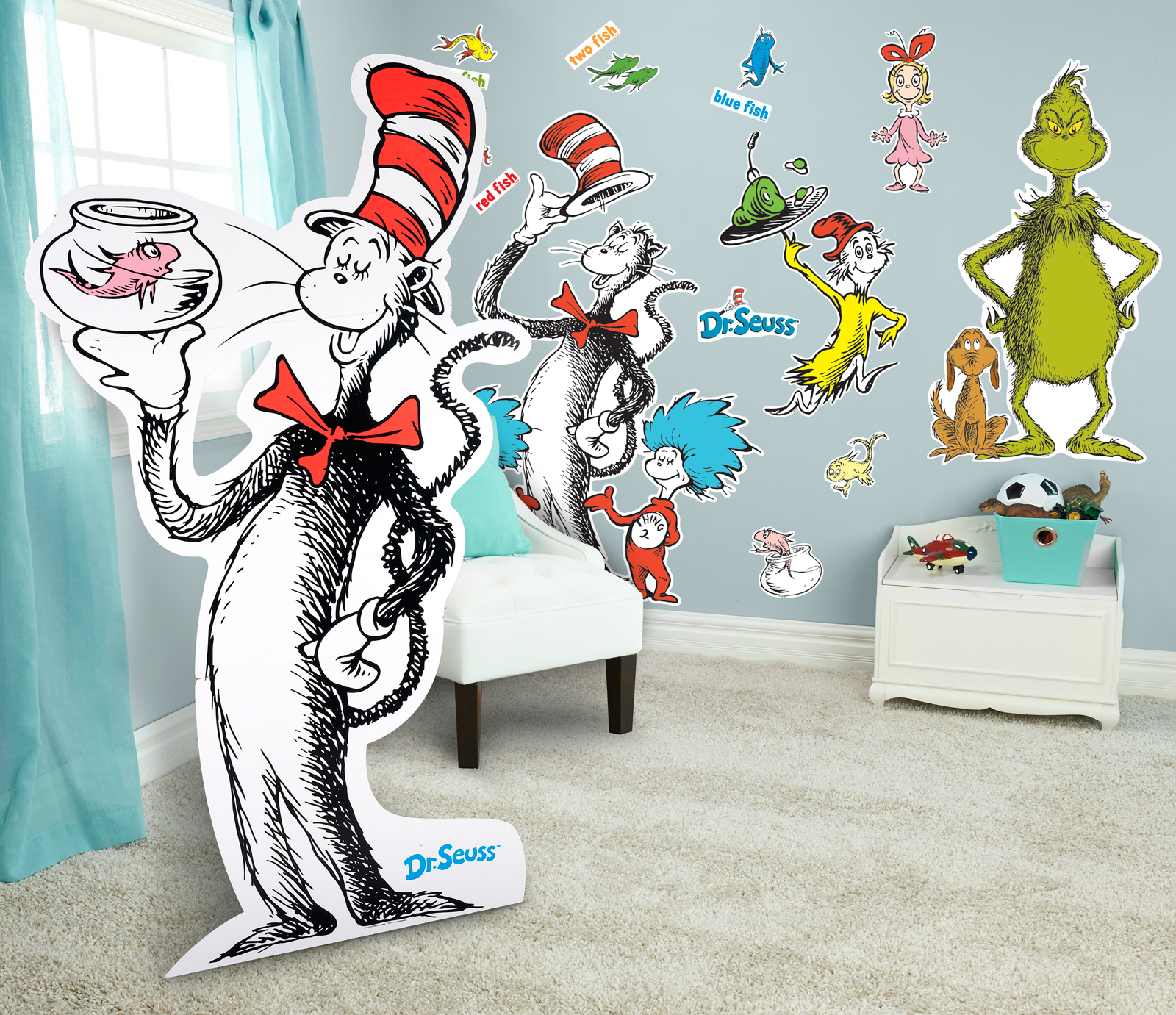 Elegant Default Image   Dr. Seuss Giant Wall Decals And Standup Kit Part 16
