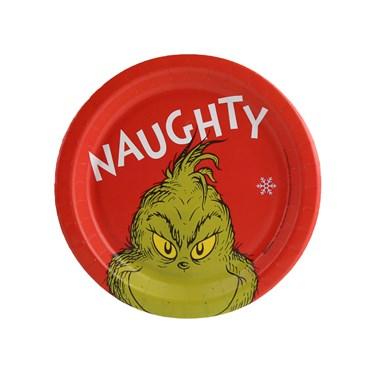 Dr. Seuss Grinch Naughty Dessert Plate (8)