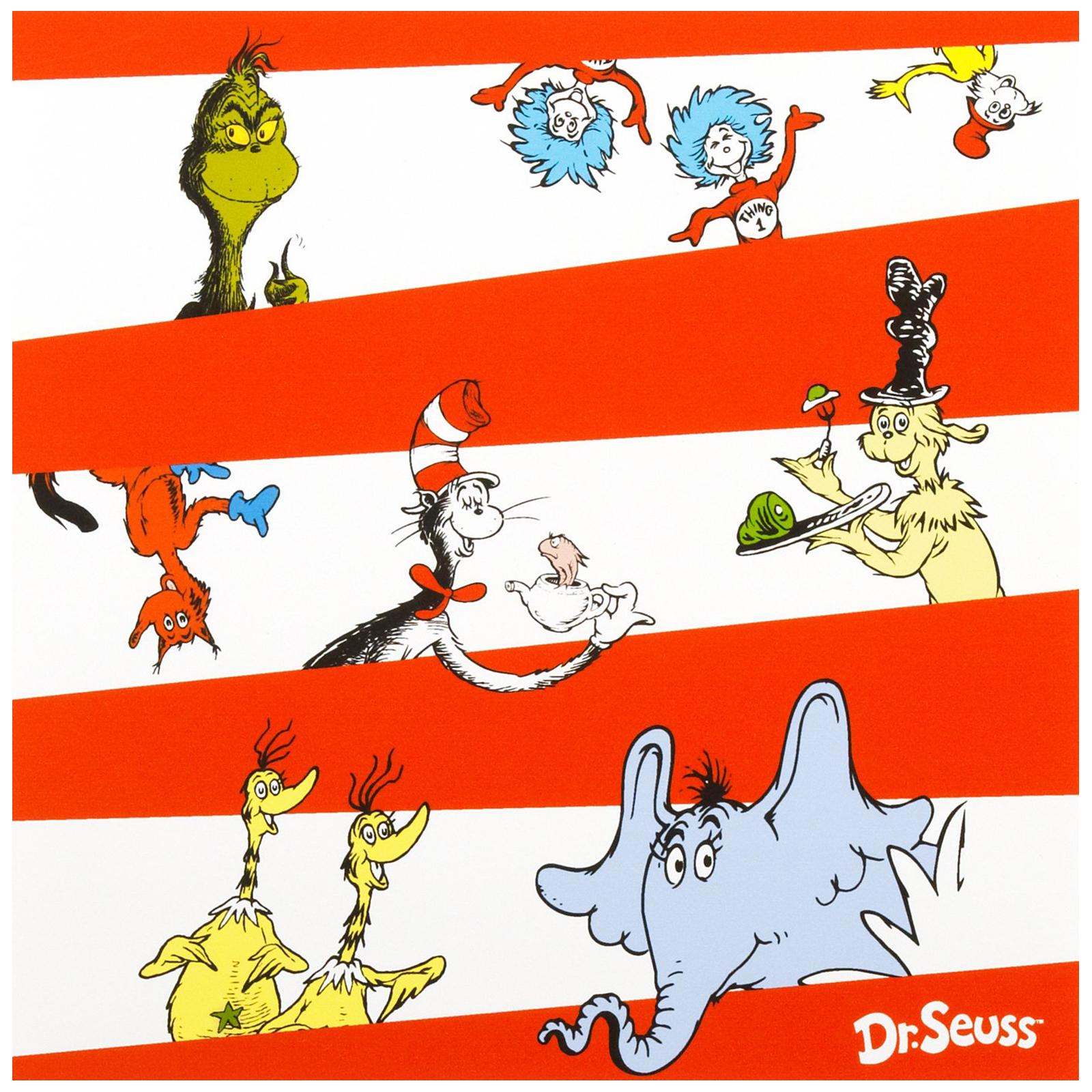 Dr. Seuss Lunch Napkins | BirthdayExpress.com