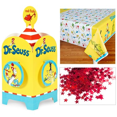 Dr. Seuss Table Décor Kit