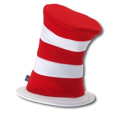 Dr. Seuss The Cat in the Hat - Deluxe Hat (Adult)